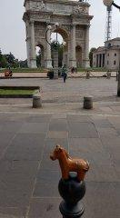 Milan, arc de triomphe